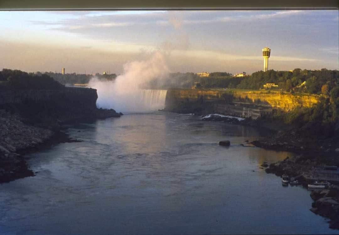 On a Greyhound Bus Trip: Niagara Falls