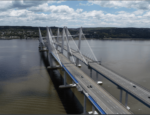 The Mario Cuomo Bridge opened in 2017
