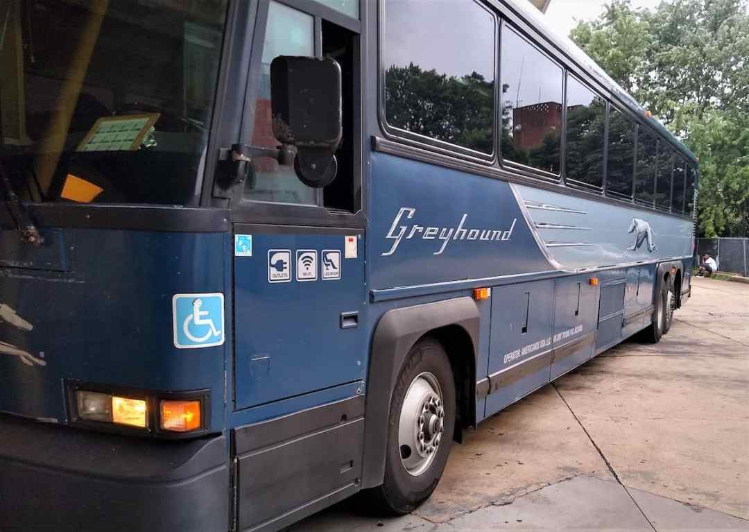 The Greyhound Bus in 2019