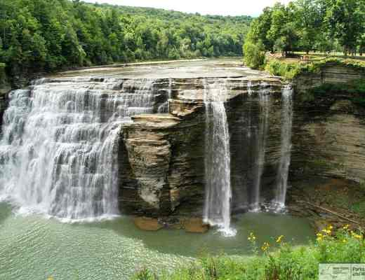 On the NYS Parks Explorer App Letchworth State Park