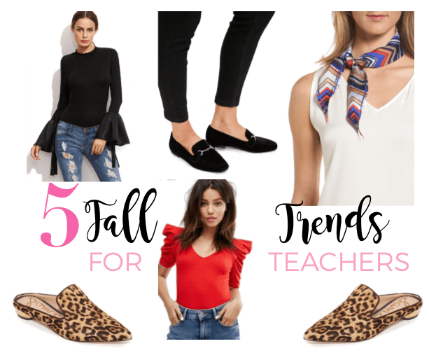 5 Fall Trends for Teachers