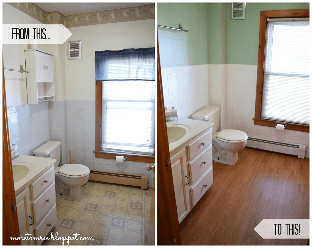 Budget Bathroom Remodel Under 100 More To Mrs E