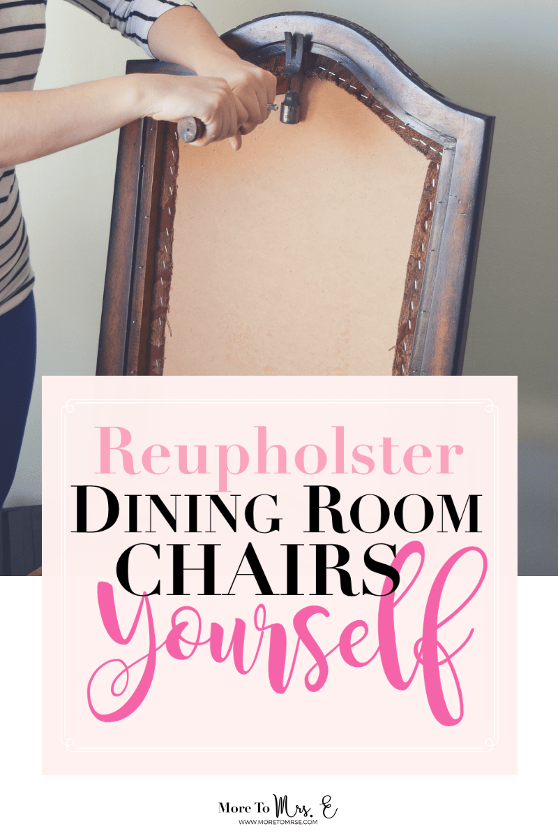 Groovy Reupholster Dining Room Chairs Dissassembly More To Mrs E Uwap Interior Chair Design Uwaporg