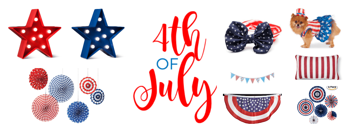 Affordable Fourth of July Decorations
