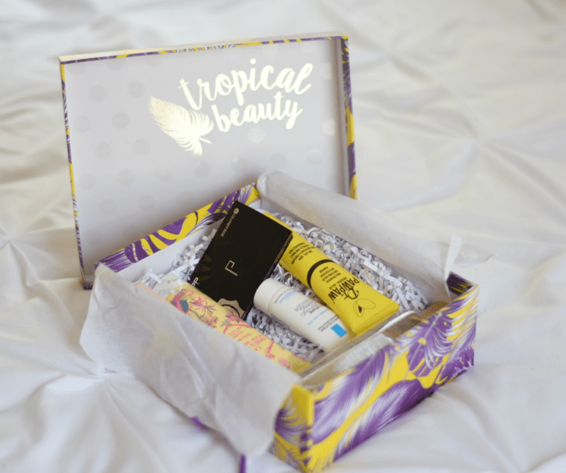 July Glossybox beauty subscription