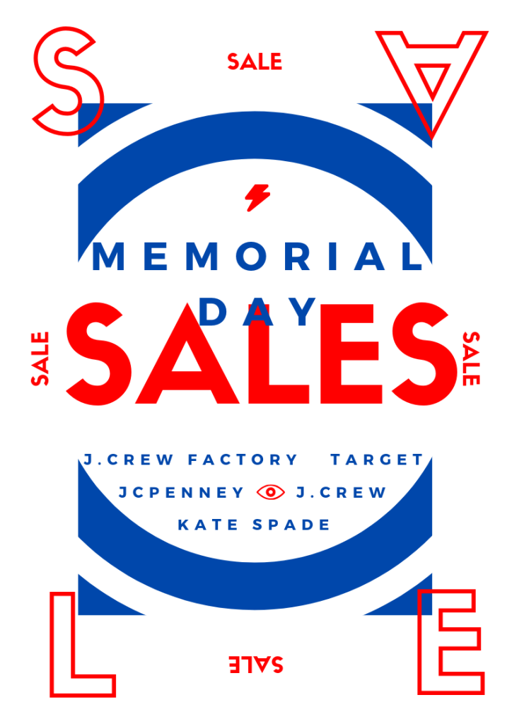 81d0303f5 Memorial Day Sales 2019   More to Mrs. E