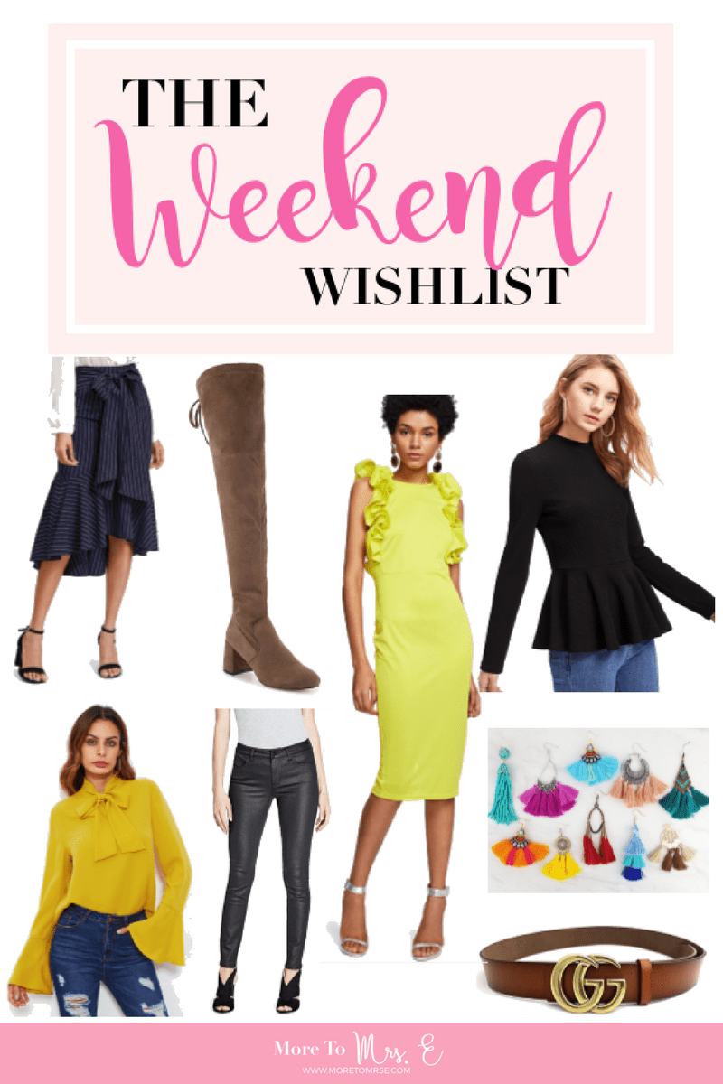 Weekend Wishlist Great Sales Teacher Style Blogger