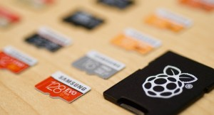 Raspberry PI 4 microSD