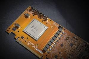 Groq tensor flow processor