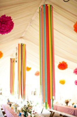 Hanging streamers