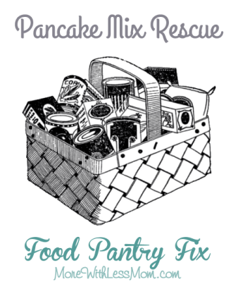 Pancake Mix Fix