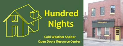 Hundred Nights homeless shelter in Keene NH
