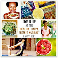 Healthy, Happy, Green & Natural Party Blog Hop on UrbanNaturale