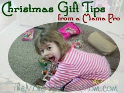 Christmas Gift Tips from a Mama Pro from The More With Less Mom