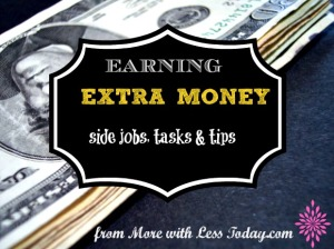 earning extra money 3-15