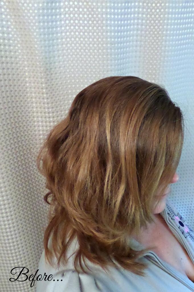Hairfinity Before