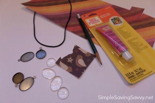 DIY Jewelry Modern Pendant