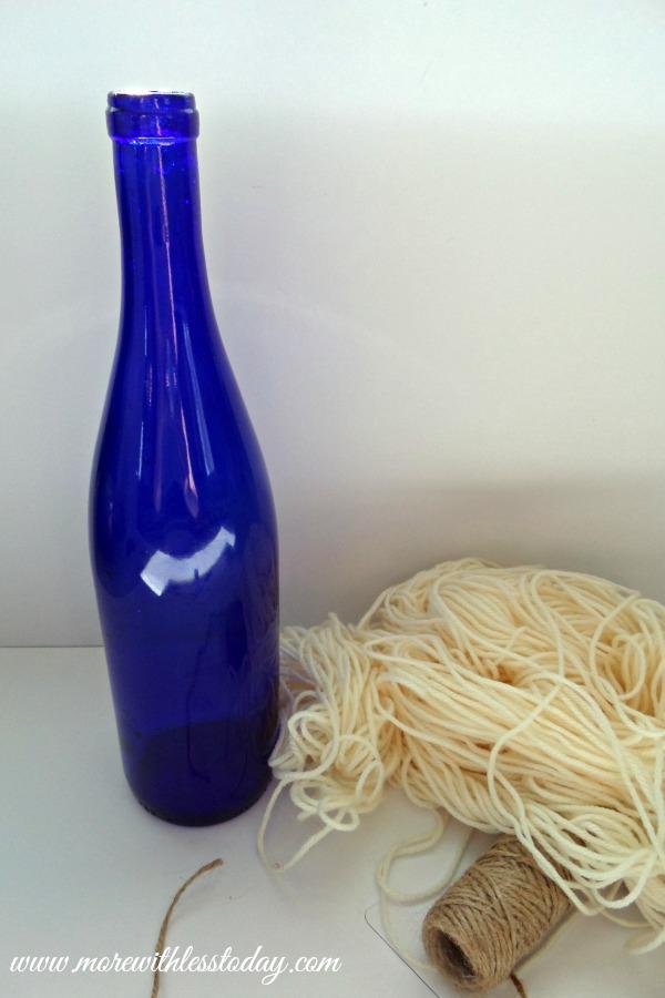 Nautical Theme Bottle Vase