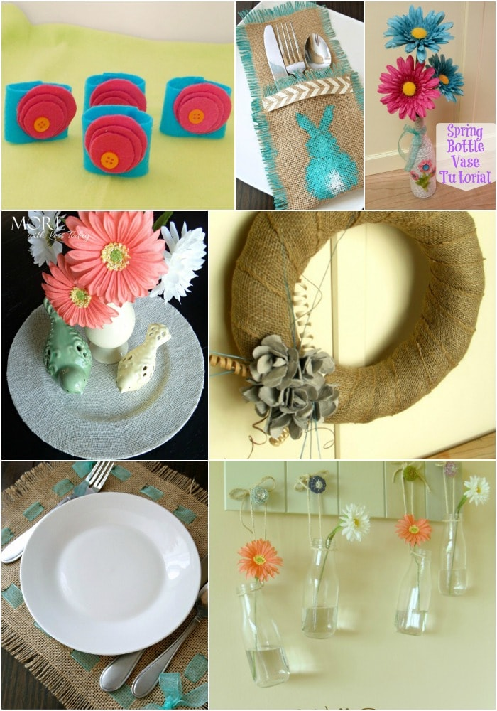 Easy Spring Craft and Decor Ideas