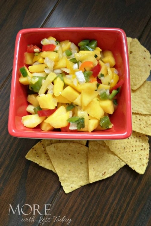 Homemade Pineapple Mango Salsa Recipe – Serve with Fish, Chicken or Chips