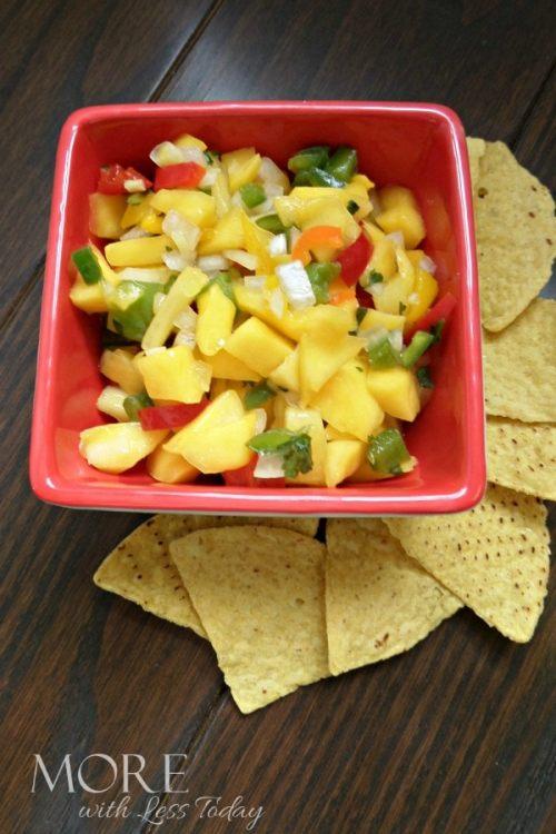 Homemade Pineapple Mango Salsa Recipe