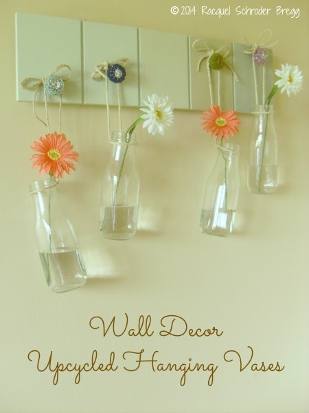 Upcycled Hanging Vases