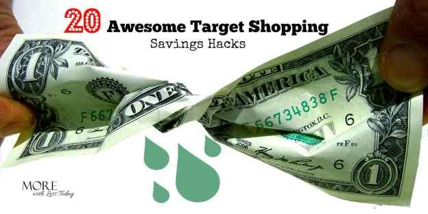 learn Target shopping savings hacks, little known ways to save at Target, Target money saving tips, shopping and saving tips at Target, savings expert, save
