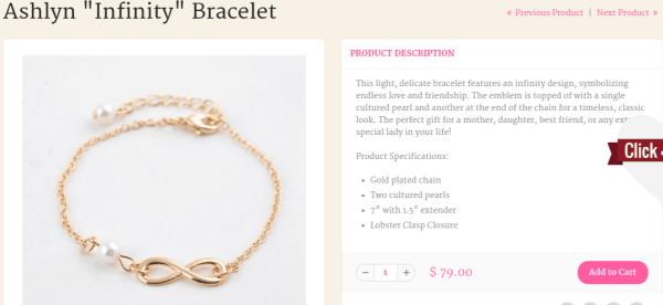 Cate & Chloe bracelets