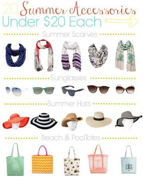 Target deal 20 summer accessories for under $20, summer scarves under $20, inexpensive ways to dress up your wardrobe, summer hats under $20, summer style