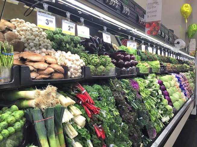 the vegetables at smart & final 2
