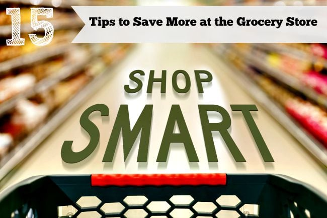 15 ways to save money on your food bill, cut down your food costs without being extreme, grocery shopping money saving tips