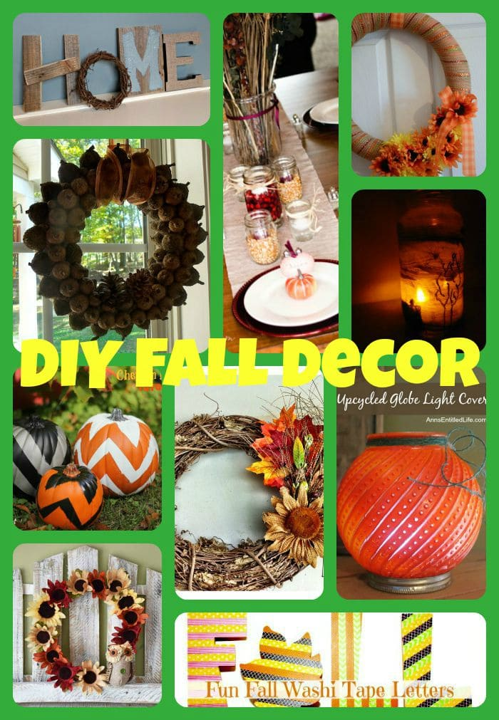 decorate your home for fall with these easy ideas from bloggers, Pinterest fall decor, fall accents for your home, decorating for the seasons