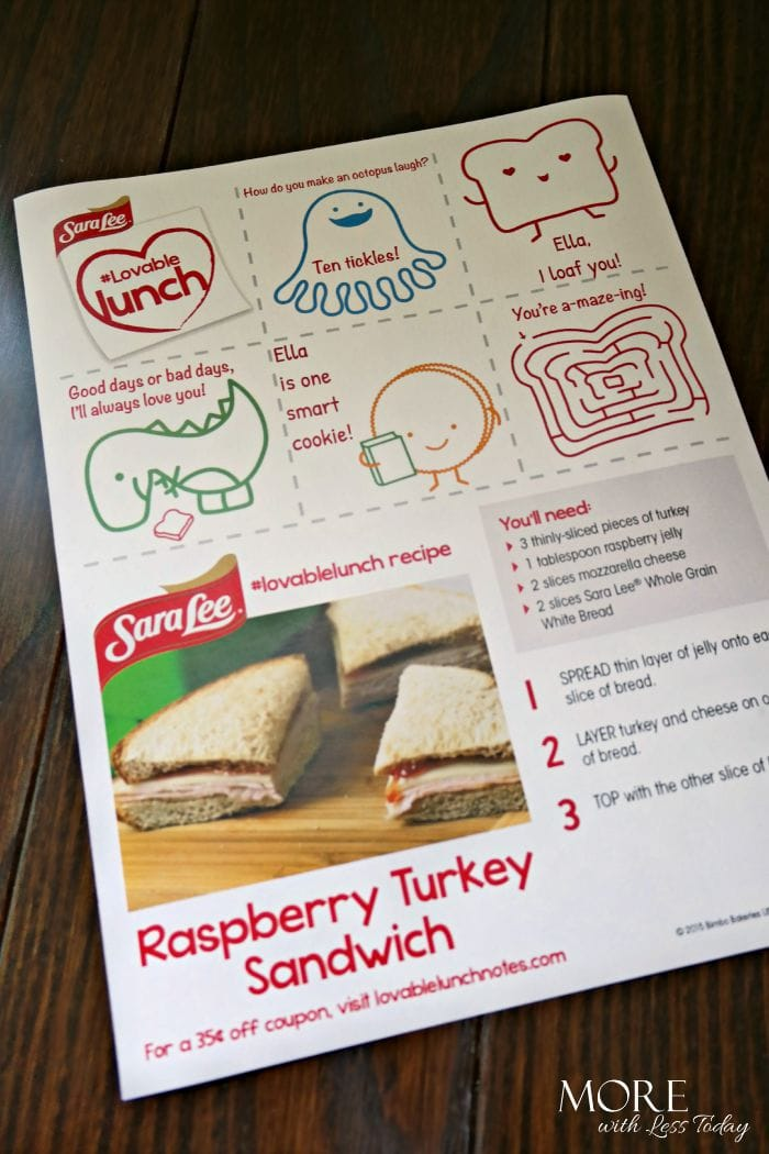 Send Your Kids Back-To-School with Lovable Lunch Notes