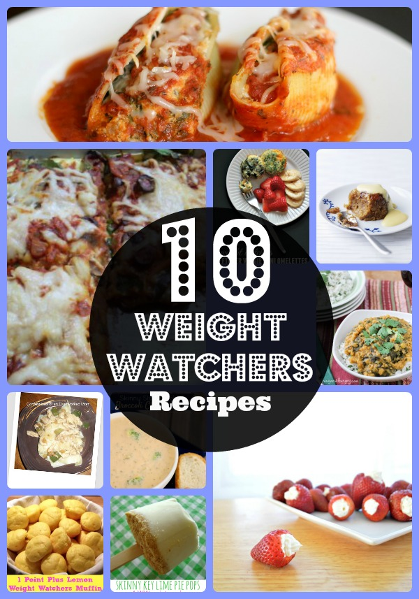 10 Favorite Weight Watchers Recipes from Food Bloggers, easy and healthy recipes, copy cat Weight Watchers recipes, healthy meals recipes, good diet food