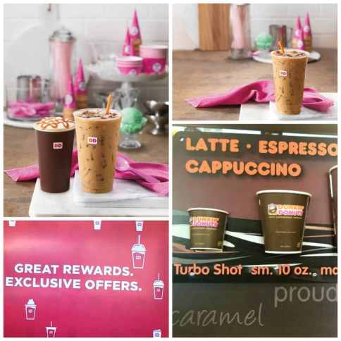 Dunkin Donuts ice cream flavored coffee 2016