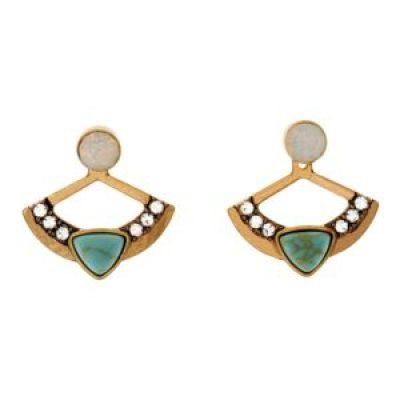 3 in 1 earrings