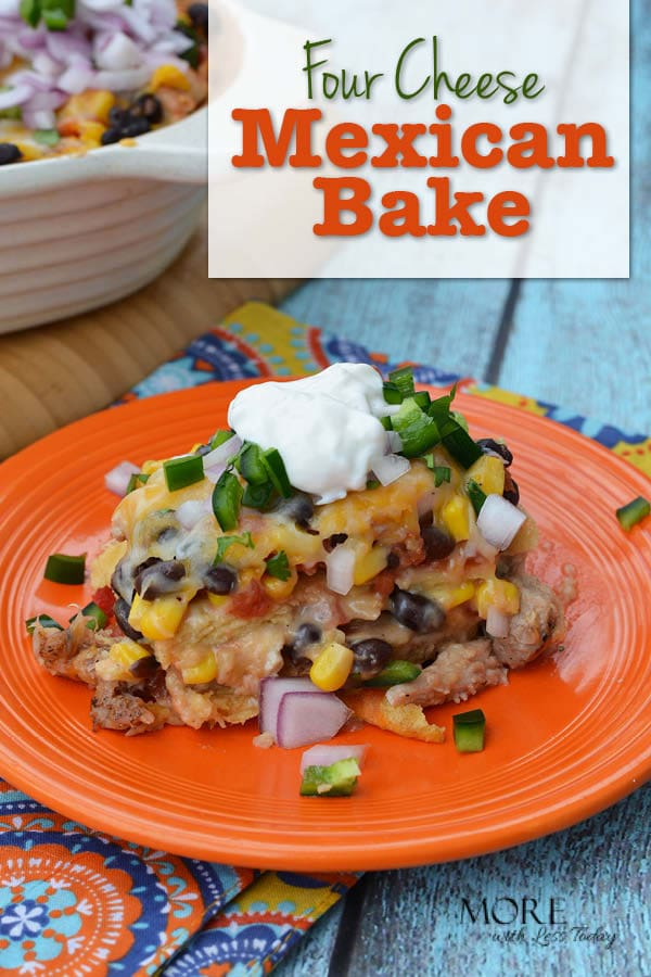 Are you looking for an easy dinner dish? Try our 4 Cheese Mexican Bake, and Take the Chopped At Home Challenge. Is it a Chopped Challenge winner?