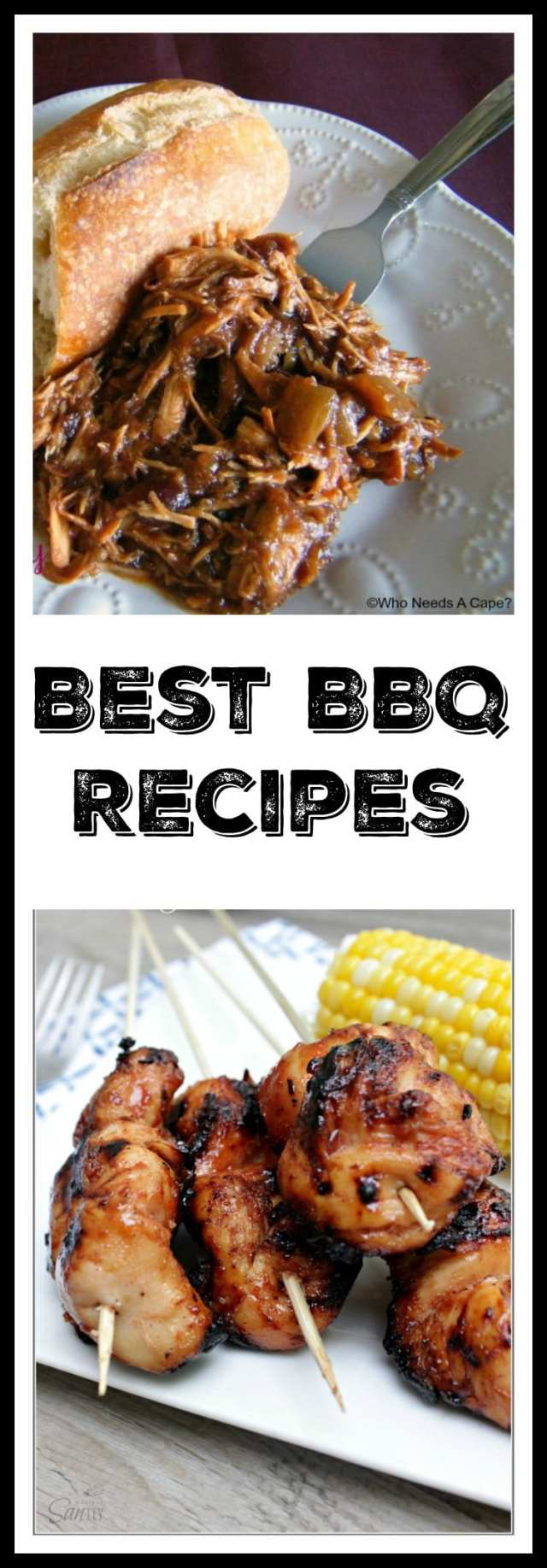 Are your looking for delicious BBQ recipes? We put together a tasty roundup of Best BBQ recipes from our favorite food bloggers. Extra napkins not included!