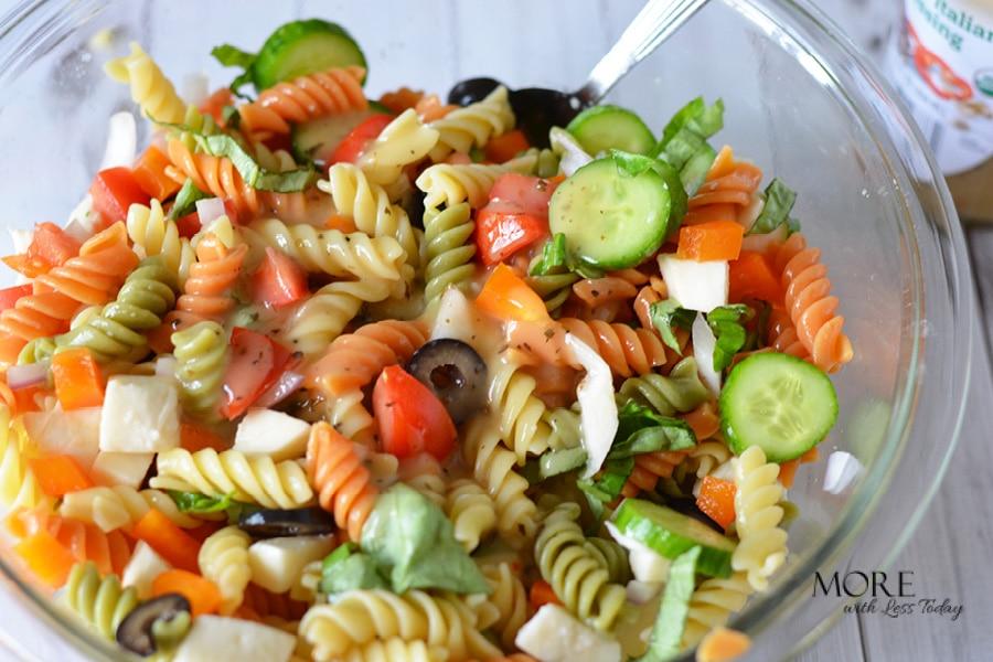 easy summer meal Italian Pasta Salad recipe