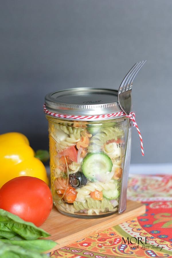 Pasta Salad lunch recipe