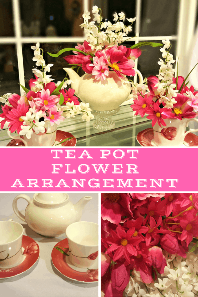 Are you looking for a DIY gift for Mom? We put together a lovely arrangement in a tea cup she can enjoy all year long. You can find what you need at your favorite Goodwill store.