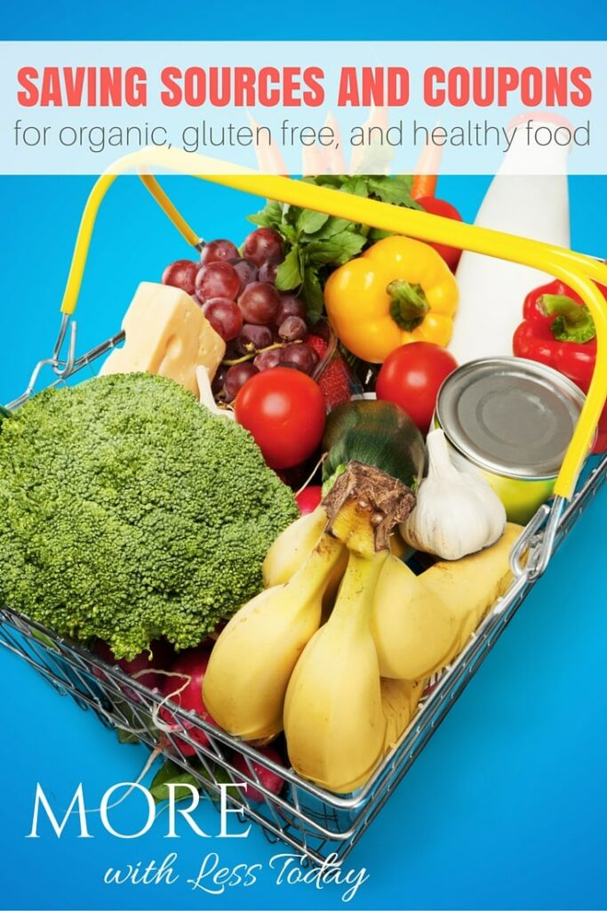 Are you looking to save money and find sources for organic food coupons, gluten free coupons, and healthy food coupons?