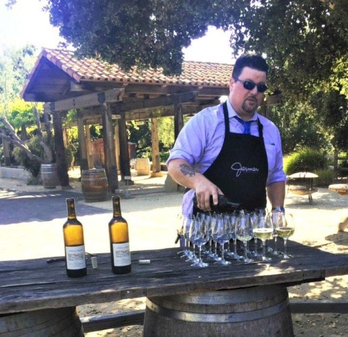 Jarman wine from Holman Ranch