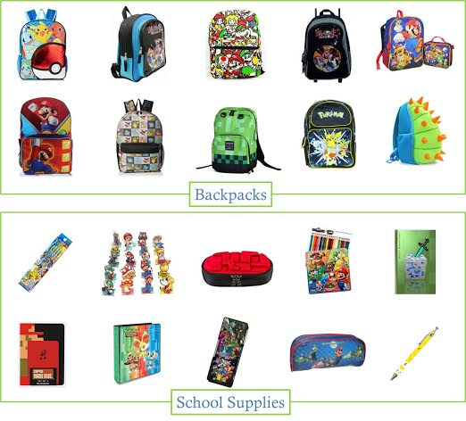 Are you looking for affordable back to school backpacks for gamers. We found the coolest backpacks & school supplies from Amazon.com.
