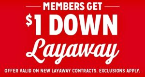Which Stores Have Layaway Plans for 2017? Here are available layaway programs at popular stores such as Walmart, Kmart, Sears and more.
