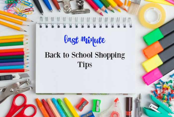 Do you still have back to school shopping to finish? Read these tips from money-saving bloggers and take advantage of their expertise.