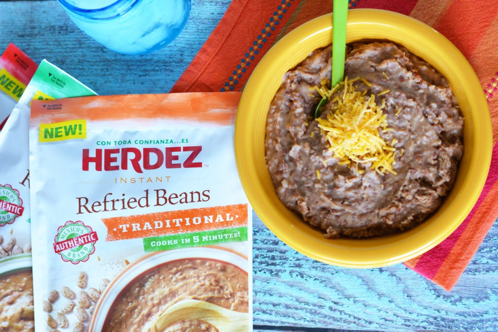 Try new instant refried beans authentic homemade taste in 5 minutes