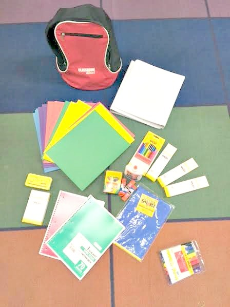 Classroom Direct donated school supplies