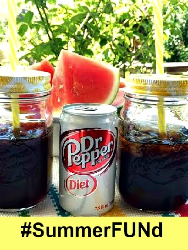 Win with #SummerFUNd Diet Dr Pepper® and Walmart - if you love Diet Dr Pepper, end the summer on a high note and enter to win! AD
