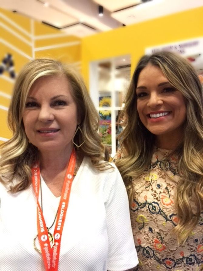 Lori Felix and Sabrina Soto at BlogHer16